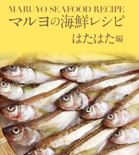 MARUYO SEAFOOD RECIPE マルヨの海鮮レシピ はたはた編